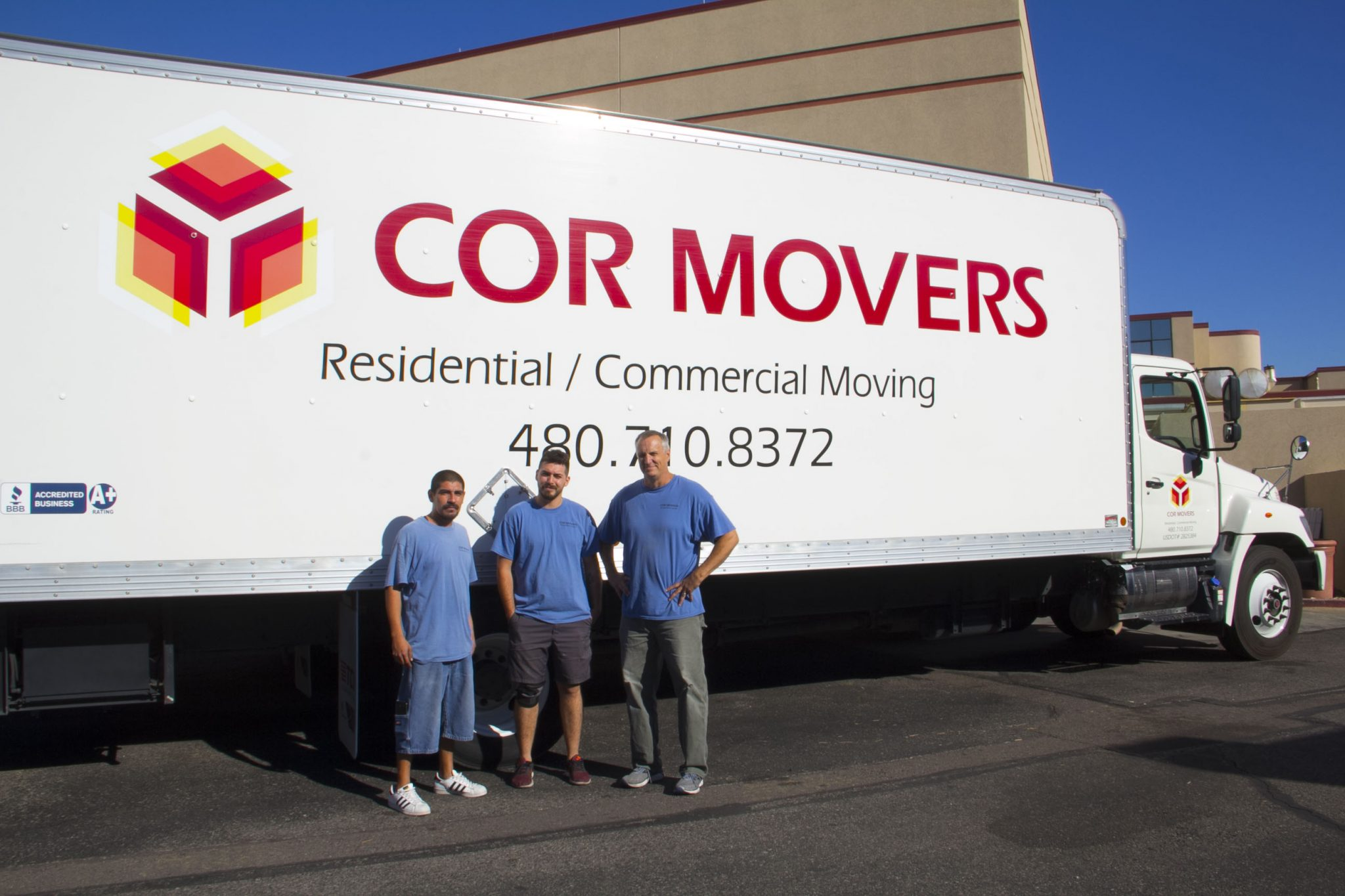 moving company in phoenix az moving truck and crew