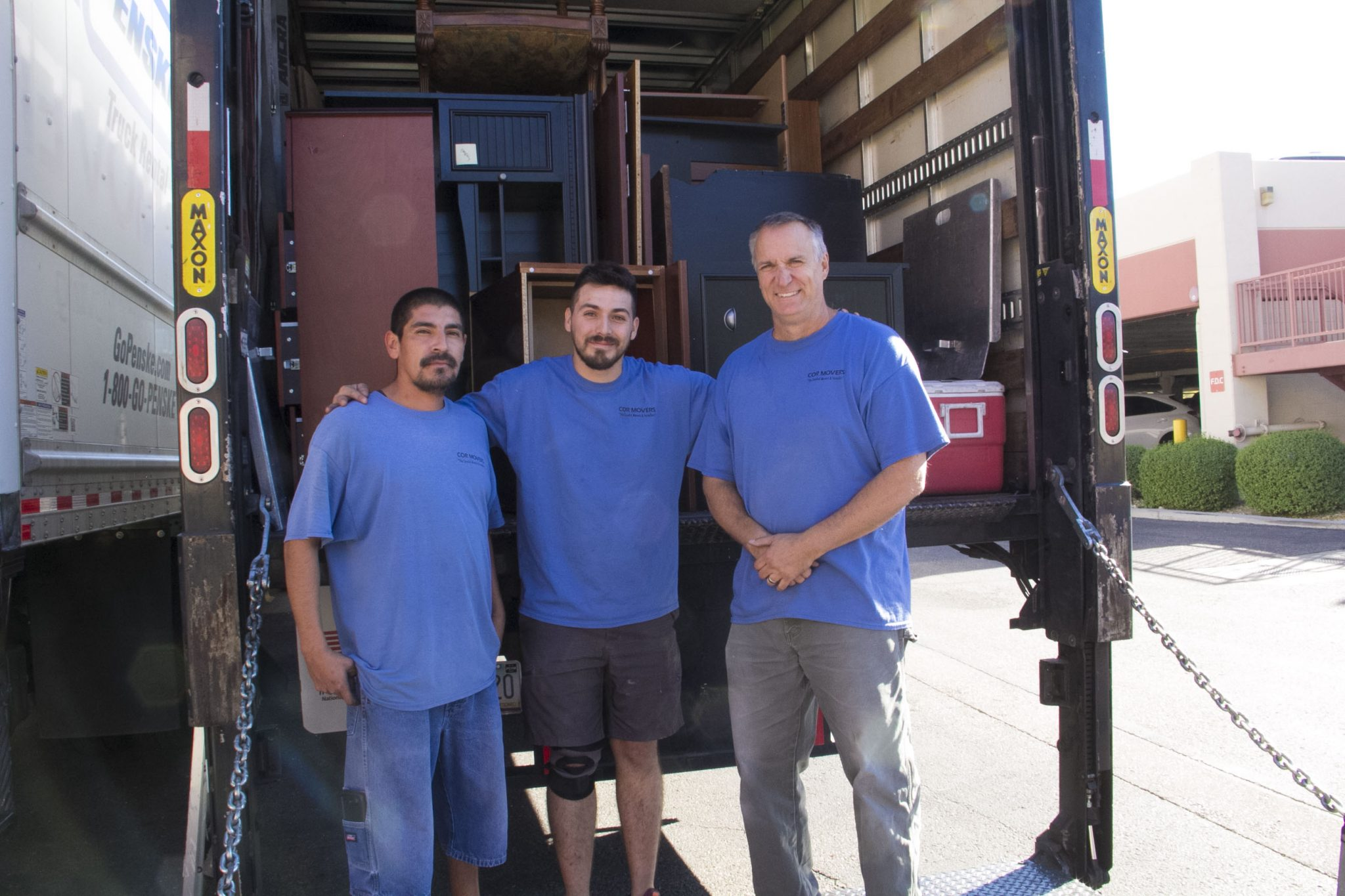 Cor Movers Moving crew