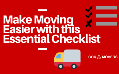 Here is Your Essential Residential Moving Checklist