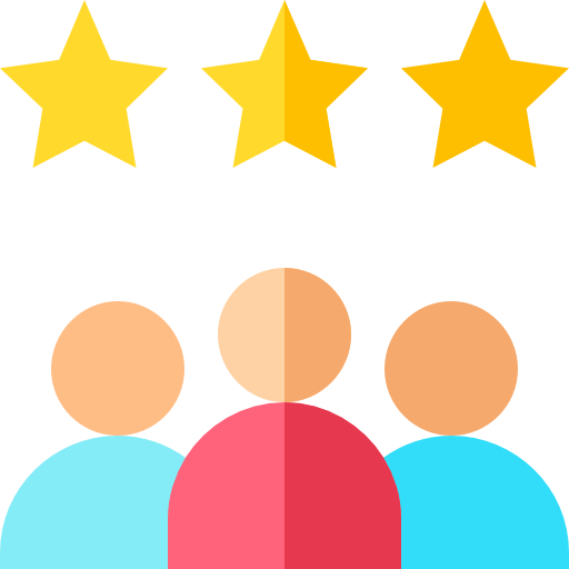 customer rating logo